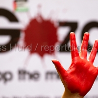 Israeli Embassy Protest