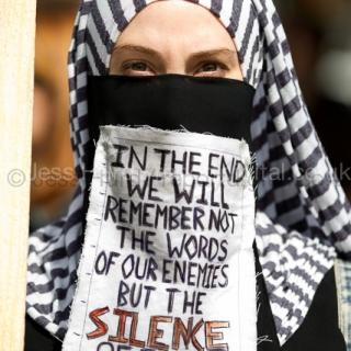 Gaza National Demo