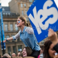 Glasgow Votes Yes – Scottish Referendum