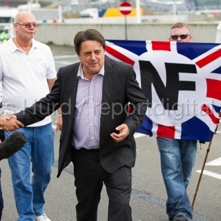 Nick Griffin joins NF Demo
